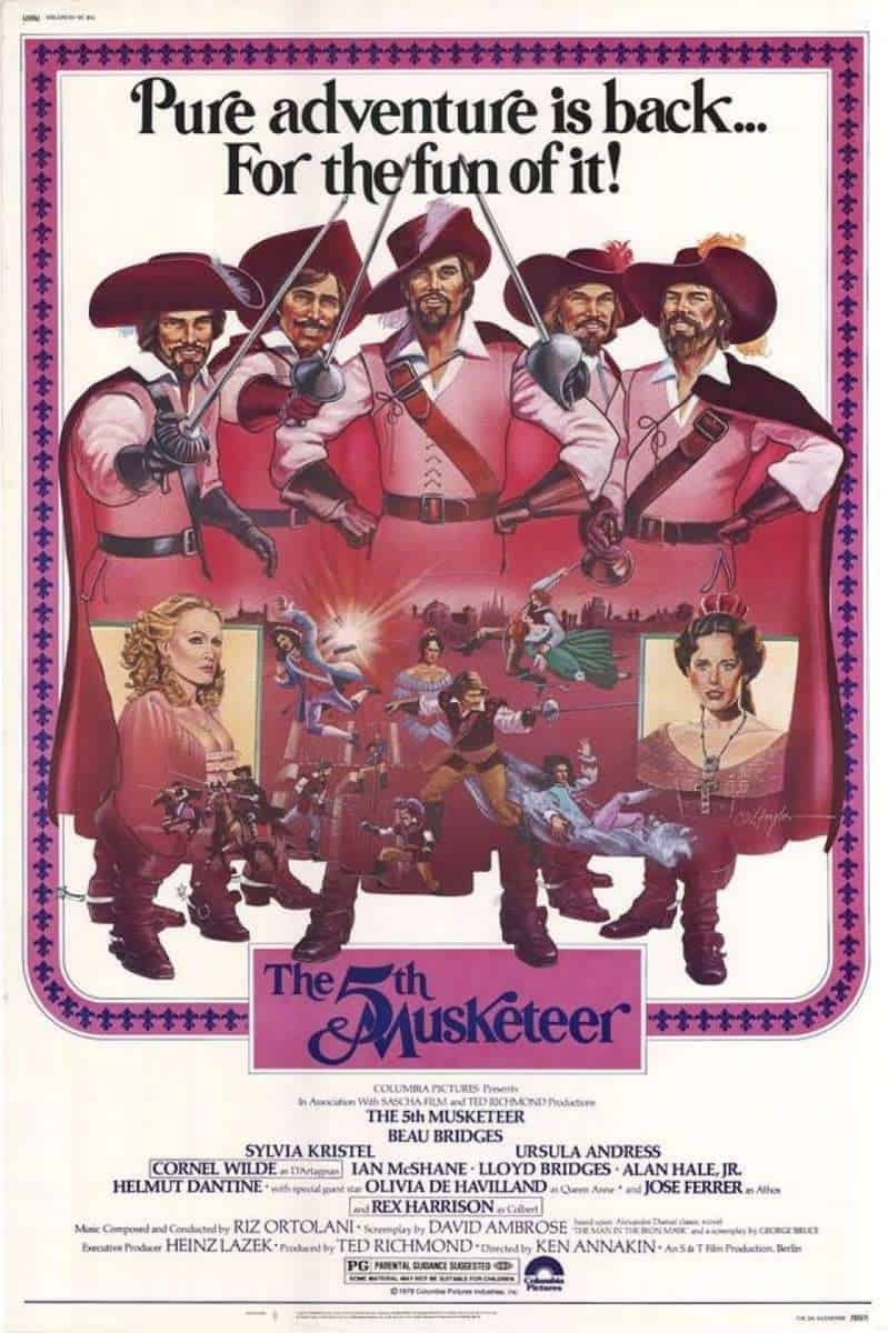 The Fifth Musketeer on FREECABLE TV