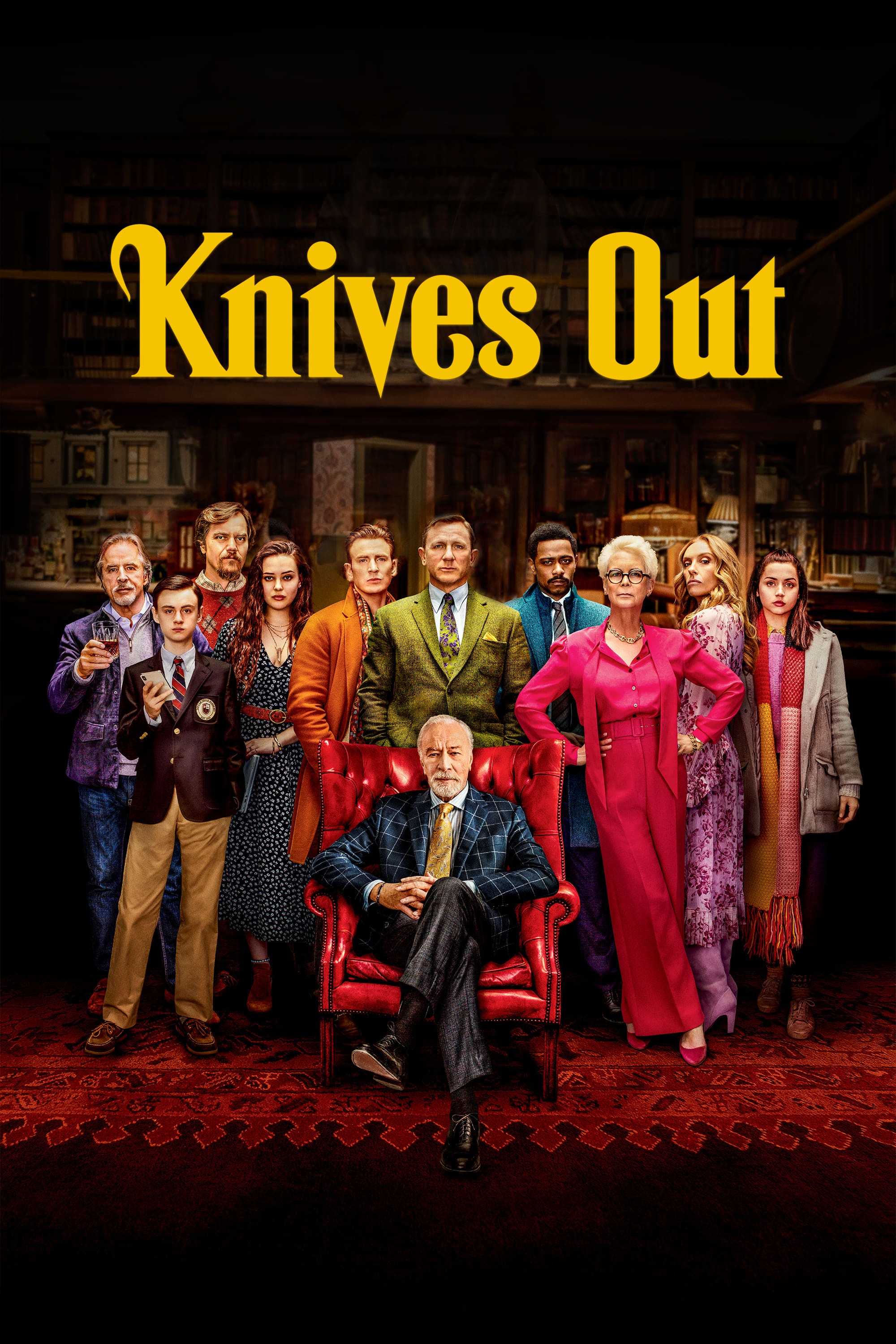 Knives Out (2019) - Posters — The Movie Database (TMDb)