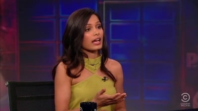 The Daily Show with Trevor Noah Season 16 :Episode 99  Freida Pinto
