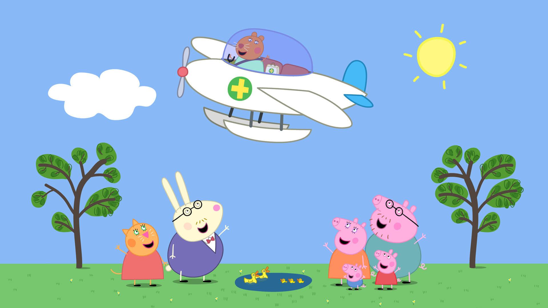 Peppa Pig Season 4 :Episode 13  The Flying Vet