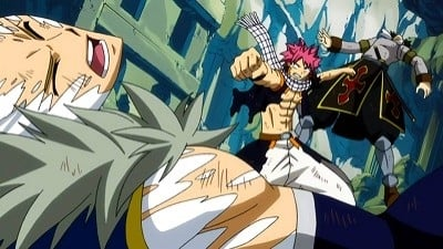 Fairy Tail Season 4 :Episode 25 Natsu vs. the Twin Dragons