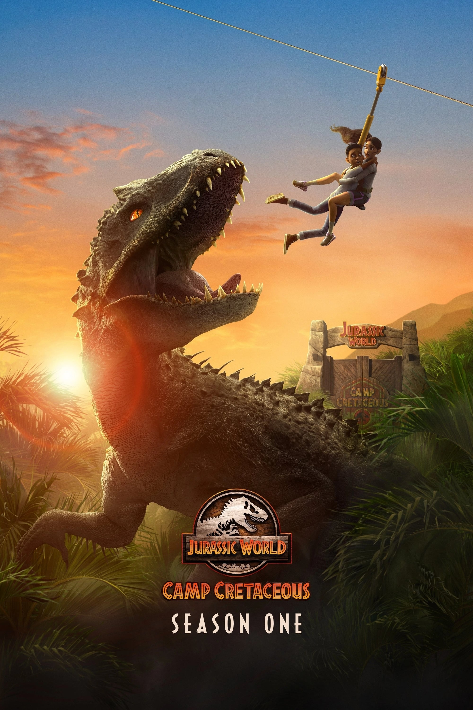 Jurassic World: Camp Cretaceous Batch S1 EP1 (2020) Subtitle Indonesia