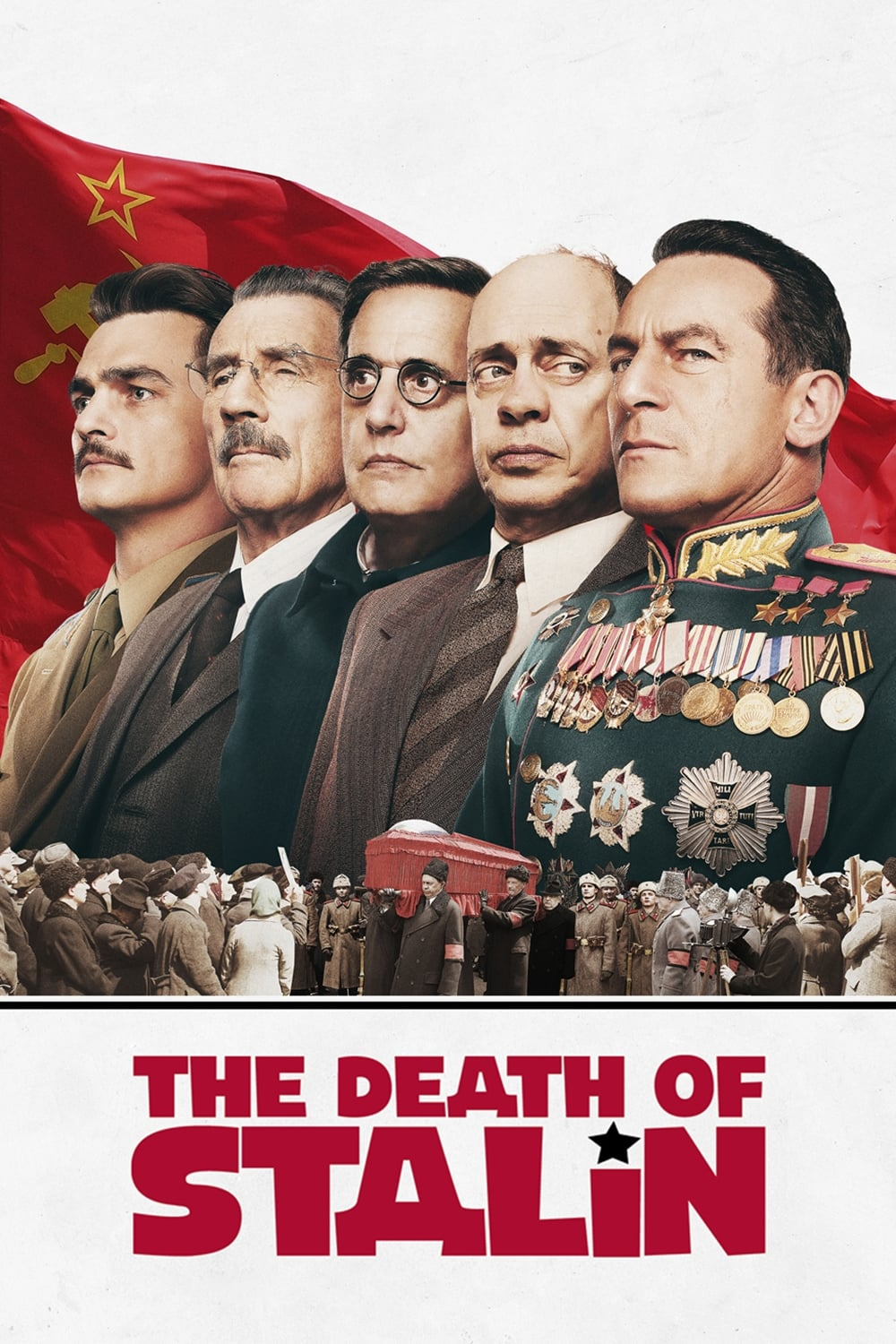 Poster and image movie Film The Death of Stalin - The Death of Stalin - The Death of Stalin -  2017