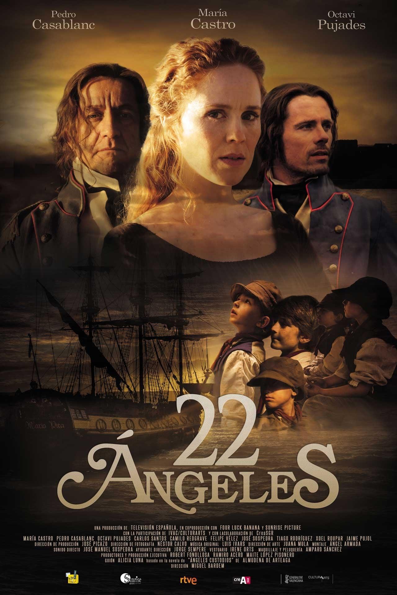 22 ángeles en Megadede
