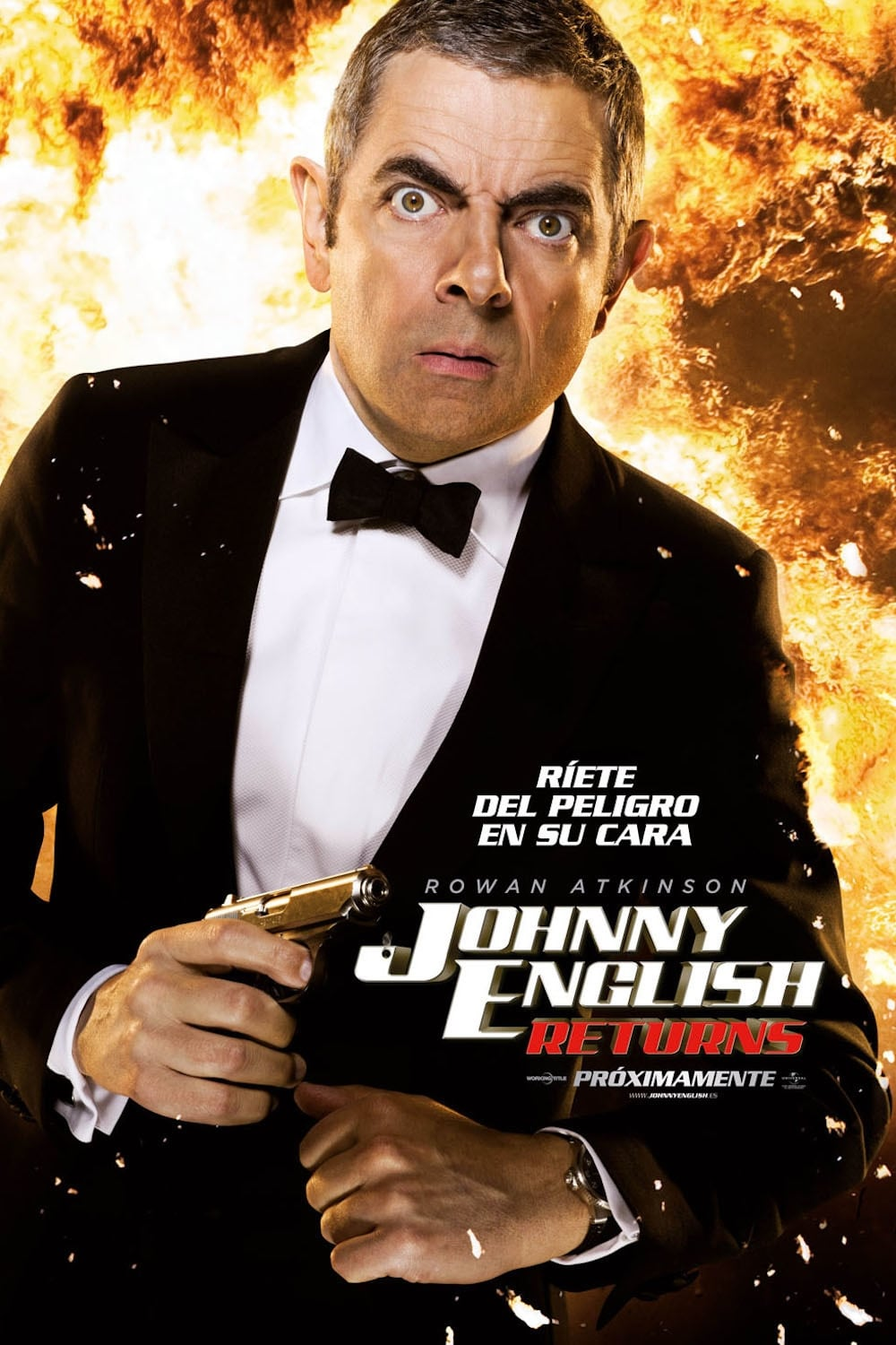 Imagen Johnny English returns