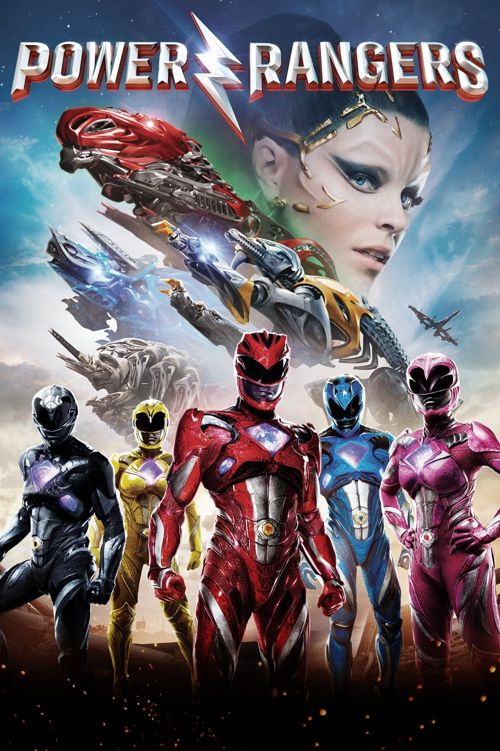 Poster and image movie Film Power Rangers - Power Rangers - Power Rangers -  2017