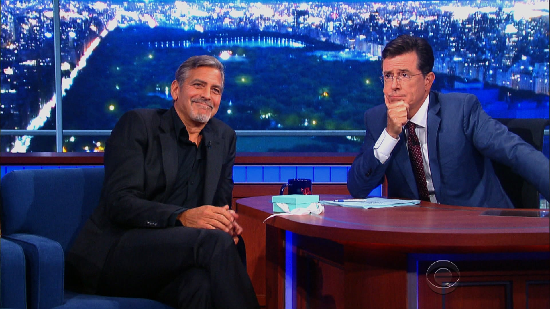 The Late Show with Stephen Colbert Season 1 :Episode 1  George Clooney, Jeb Bush, Jon Batiste & Stay Human