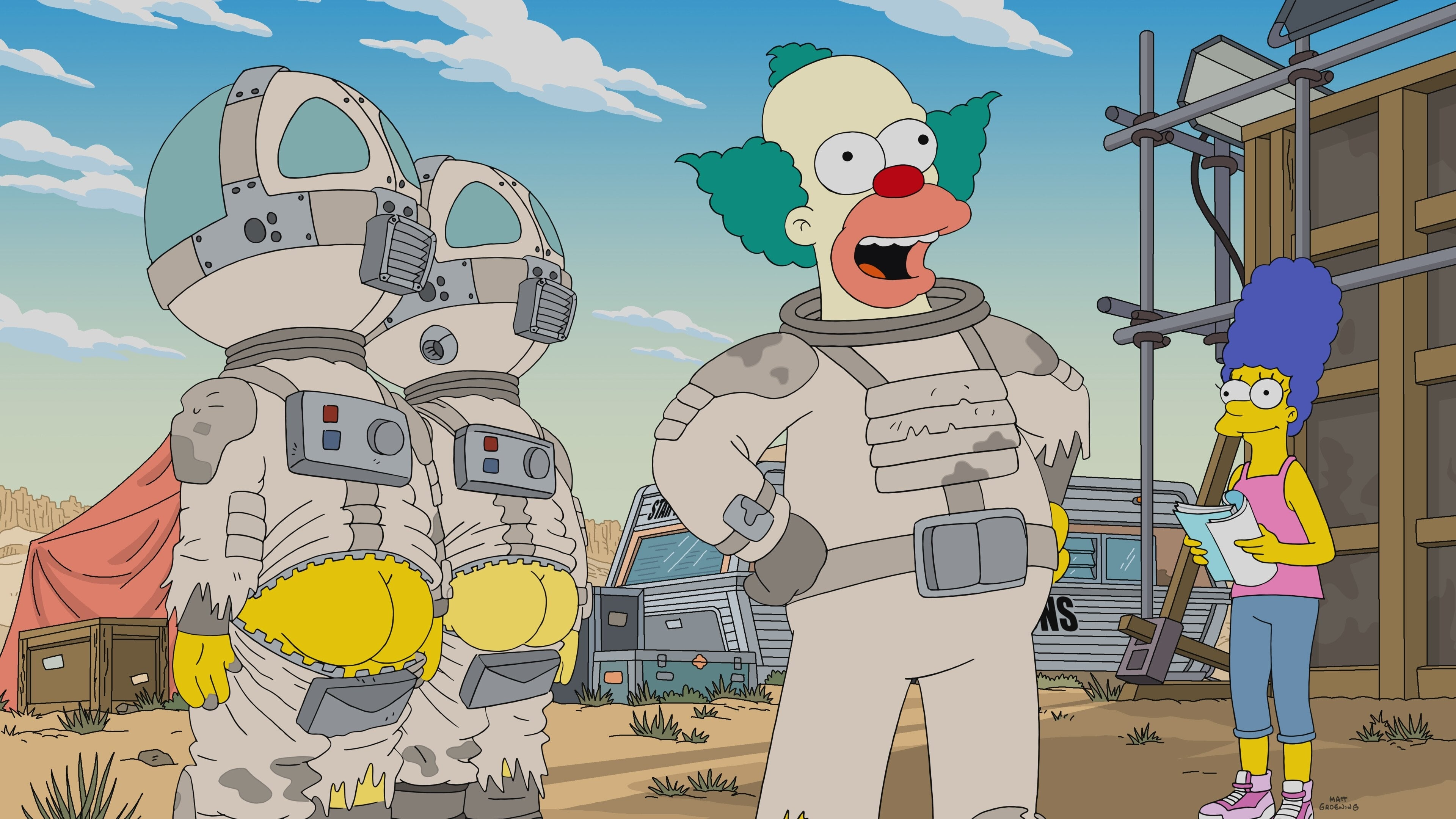 The Simpsons Season 30 :Episode 14  The Clown Stays in the Picture
