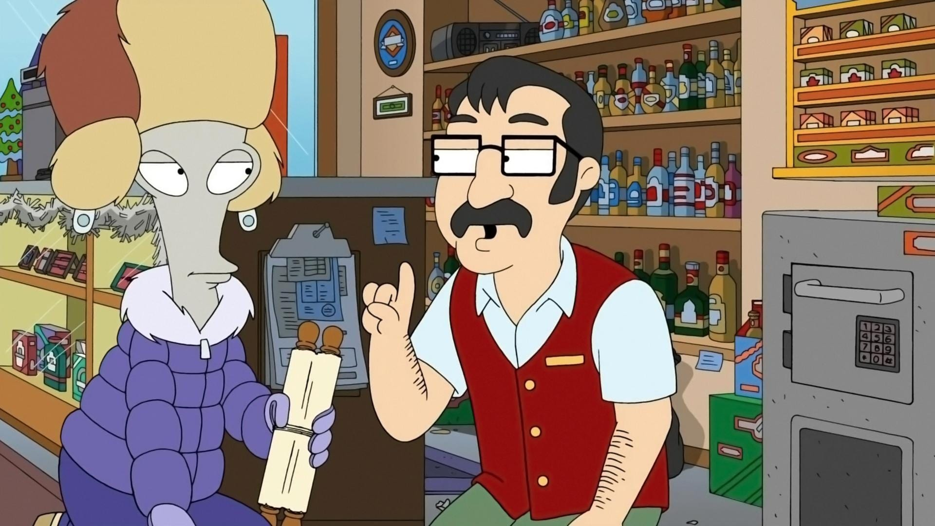 American Dad! Season 7 :Episode 8  For Whom the Sleigh Bell Tolls