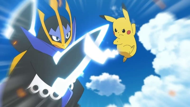 Pokémon Season 22 :Episode 50  Voller Kampf voraus!