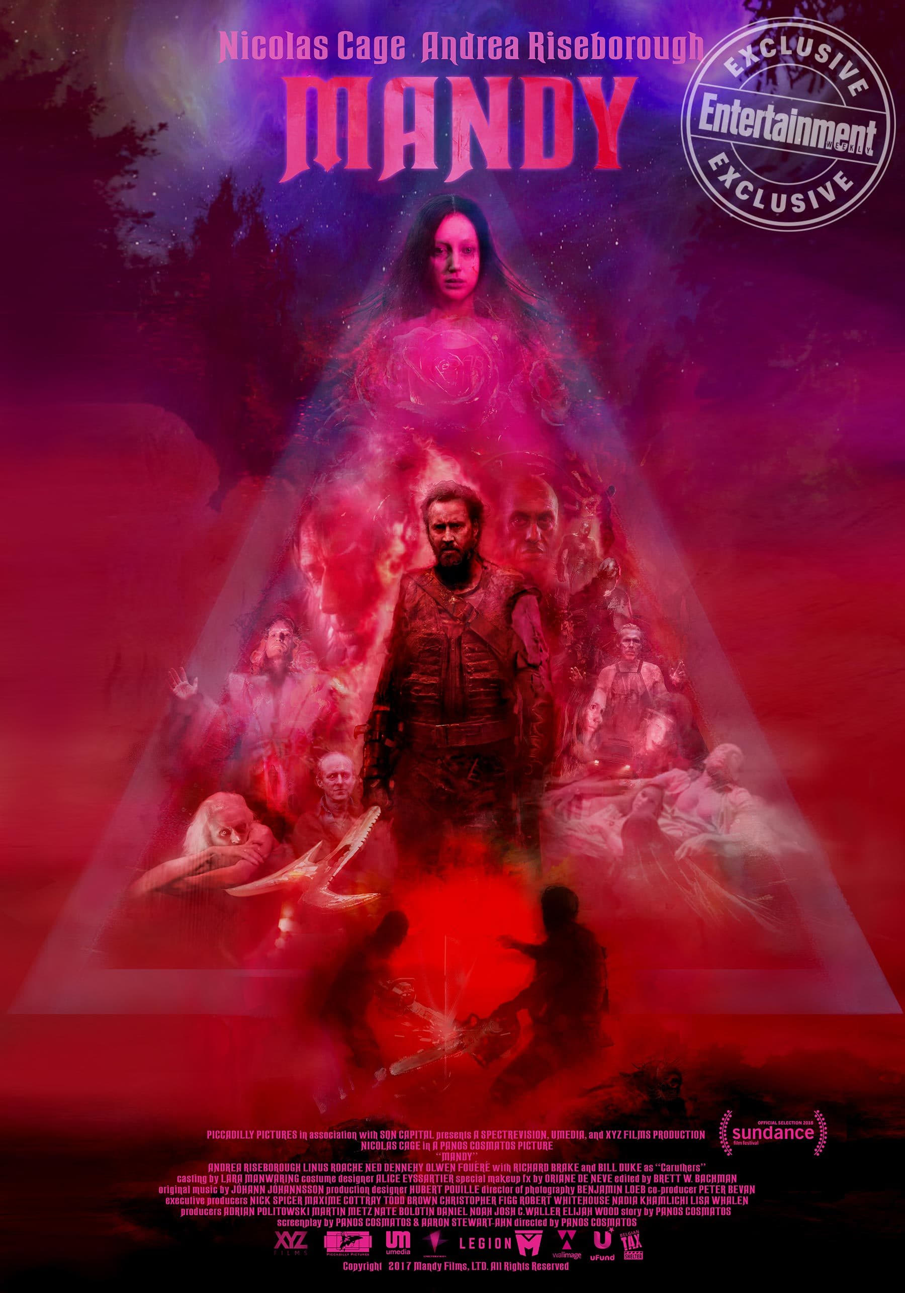 Poster and image movie Film Mandy - Mandy 2018
