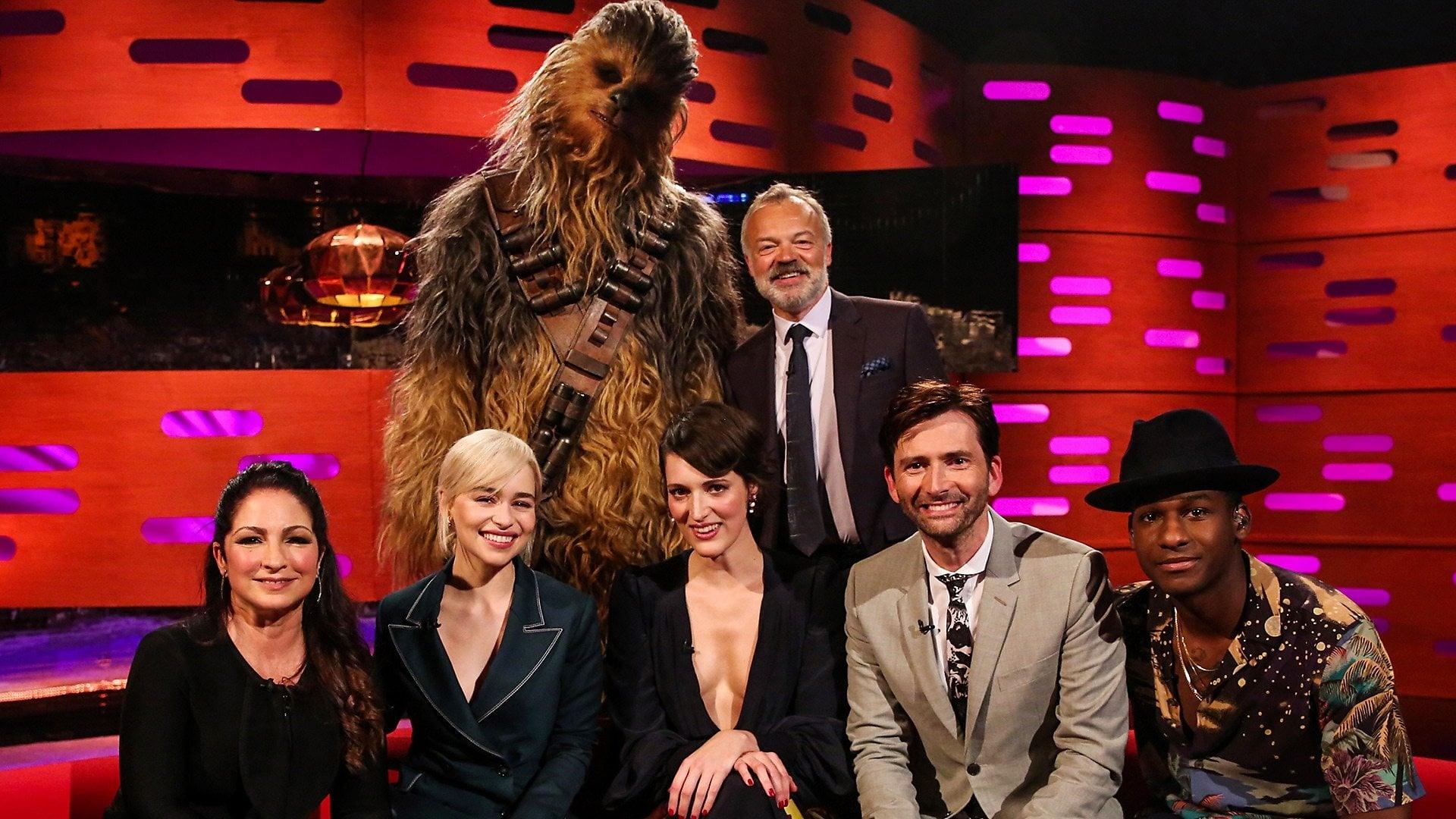 The Graham Norton Show Season 23 :Episode 7  Emilia Clarke, Gloria Estefan, David Tennant, Miriam Margolyes, Leon Bridges
