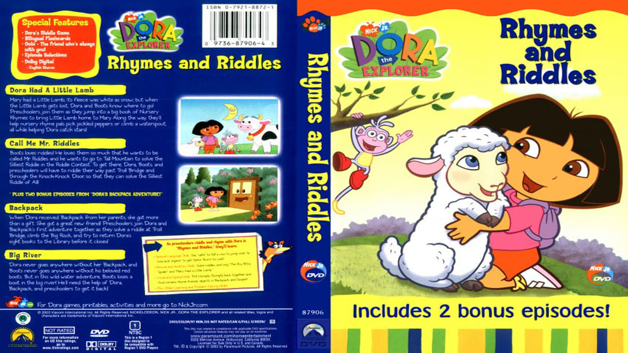 Dora the Explorer Season 0 :Episode 26  Rhymes and Riddles
