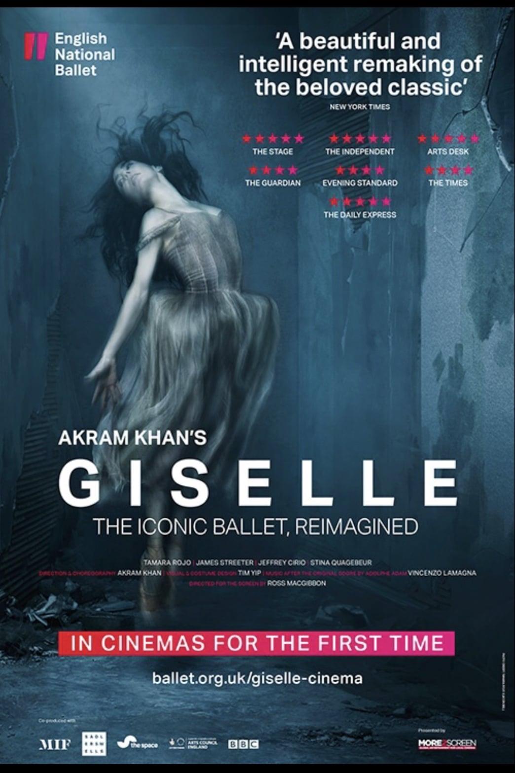 Akram Khan's Giselle (2018)