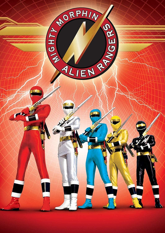 Power Rangers Mighty Morphin Alien Rangers (1996)