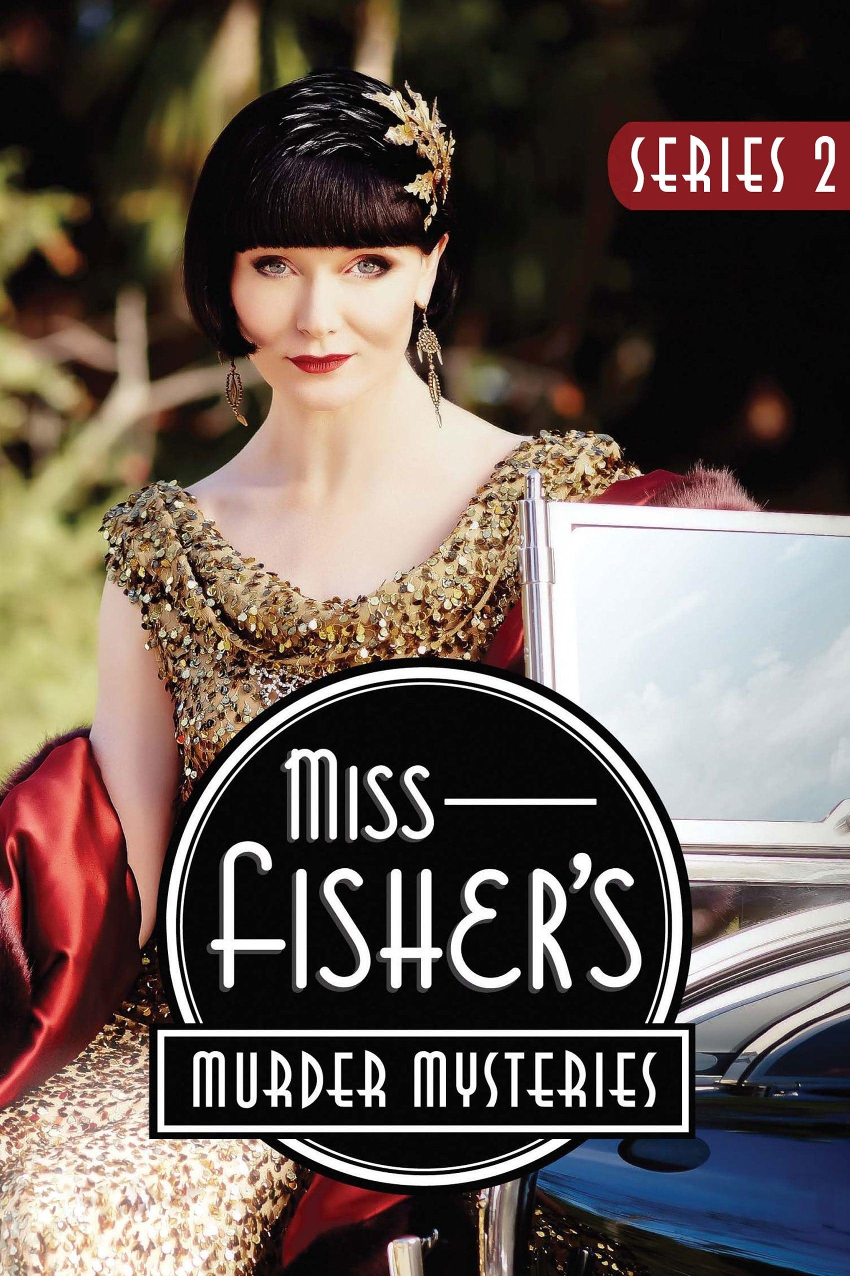 Detektyvė Fišer / Miss Fisher's Murder Mysteries (2013) 2 Sezonas