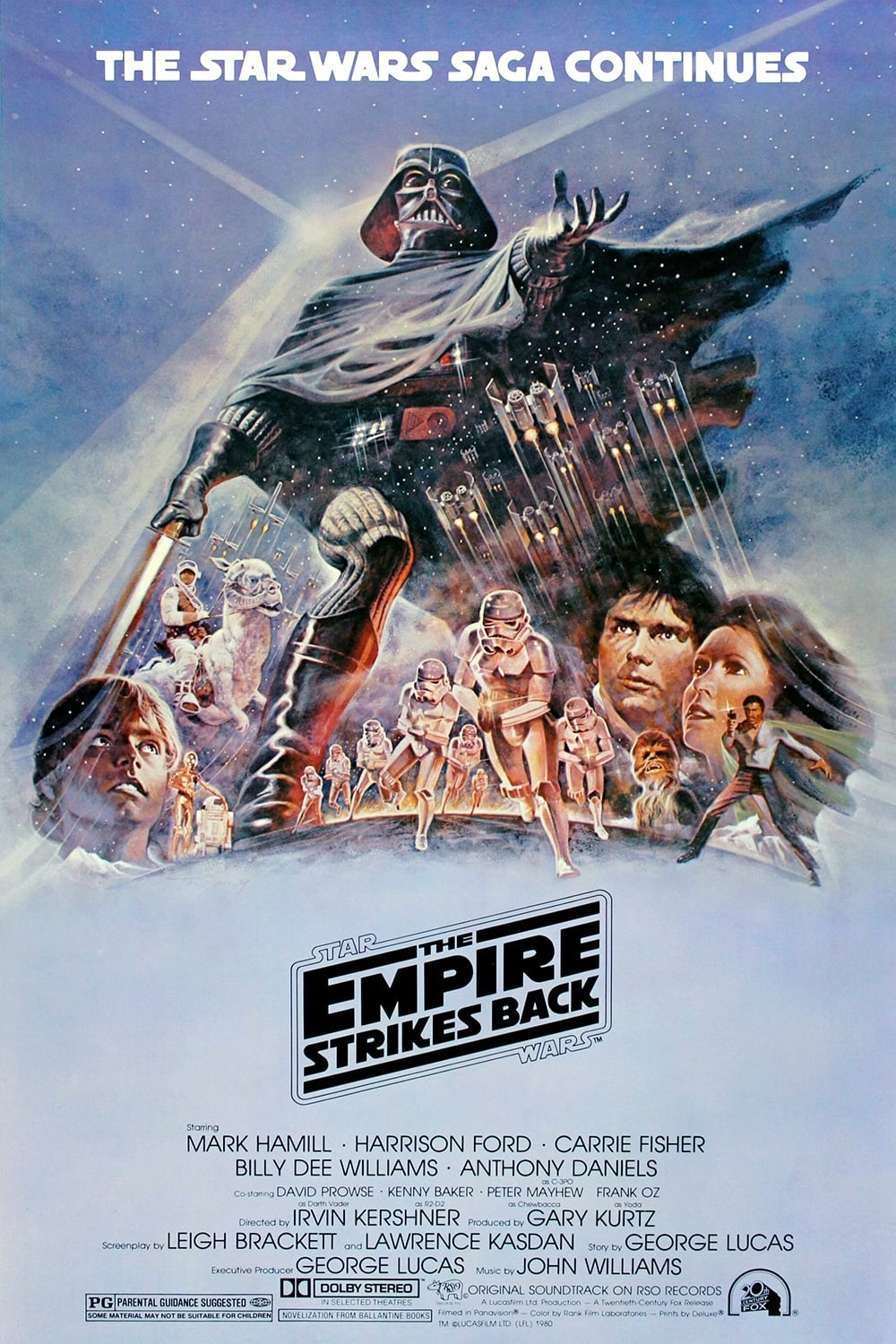 the empire strikes back the movie lighting