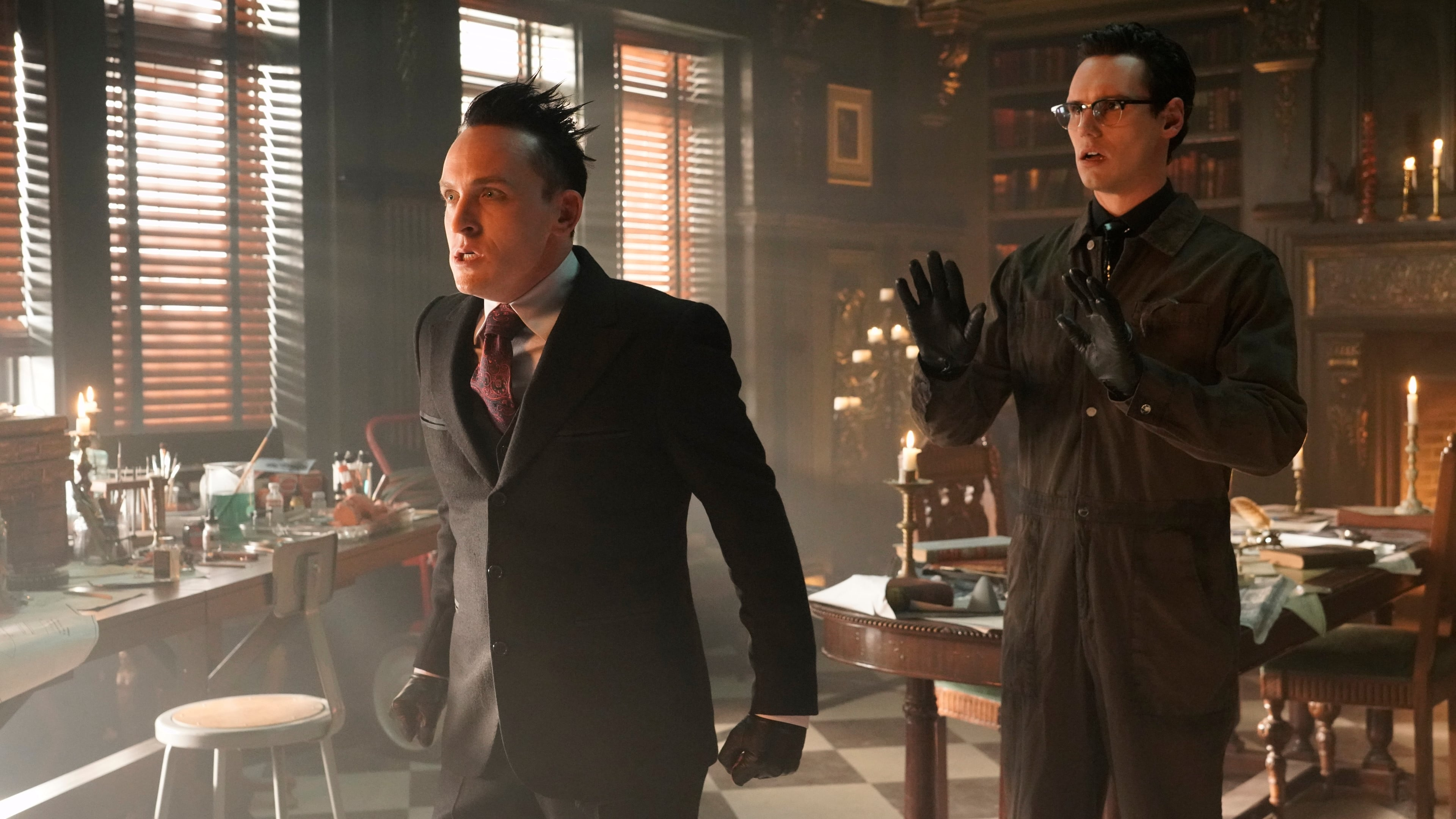 Gotham Season 5 :Episode 8  Legend of Dark Knight: Nothing's Shocking