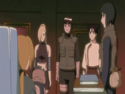 Naruto Shippūden Season 5 :Episode 100  Inside the Mist