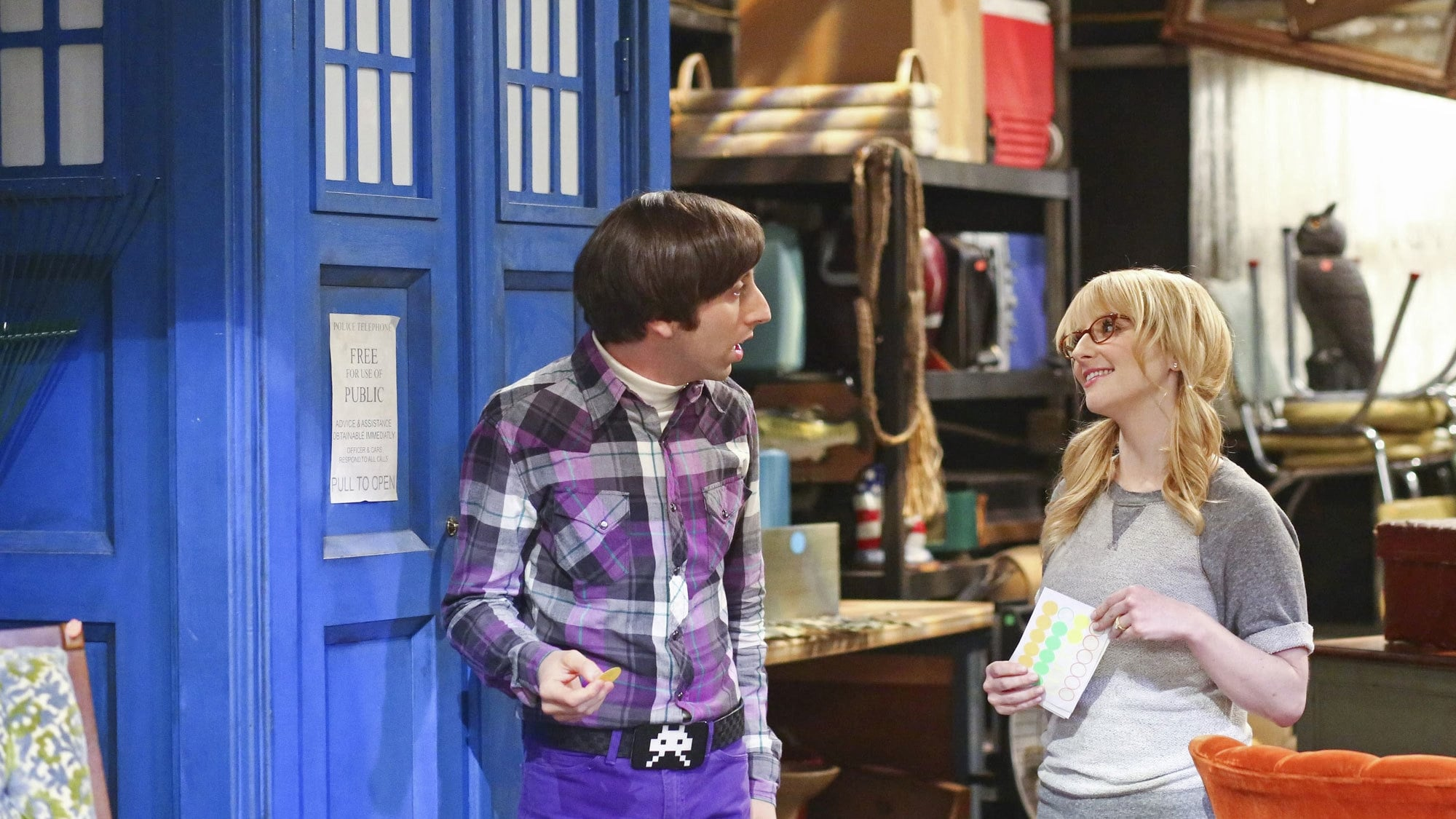 The Big Bang Theory Season 8 :Episode 19  The Skywalker Incursion