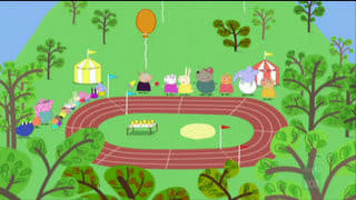 Peppa Pig Season 2 :Episode 24  Sports Day