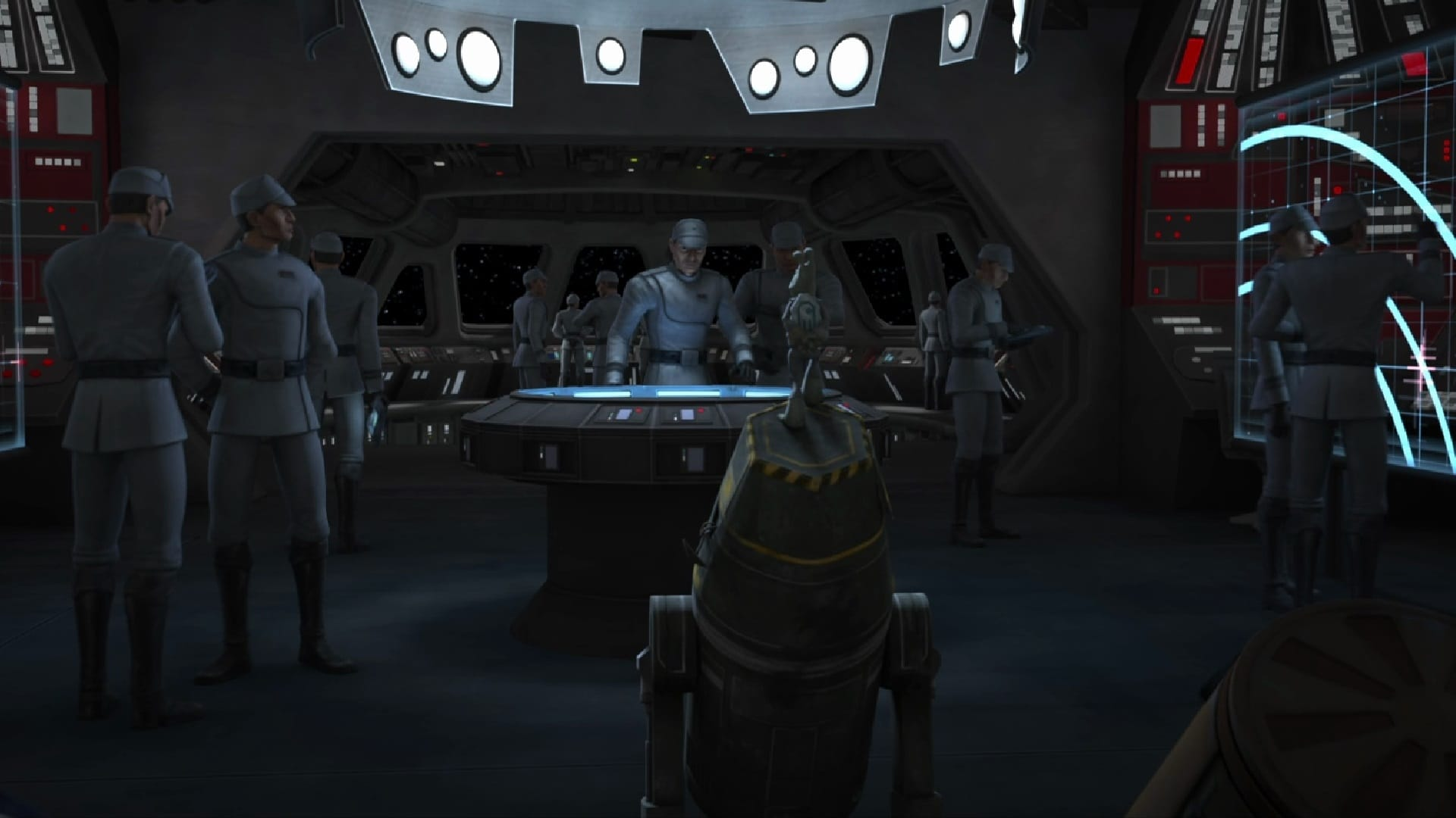 Star Wars: The Clone Wars Season 5 :Episode 13  Point of No Return