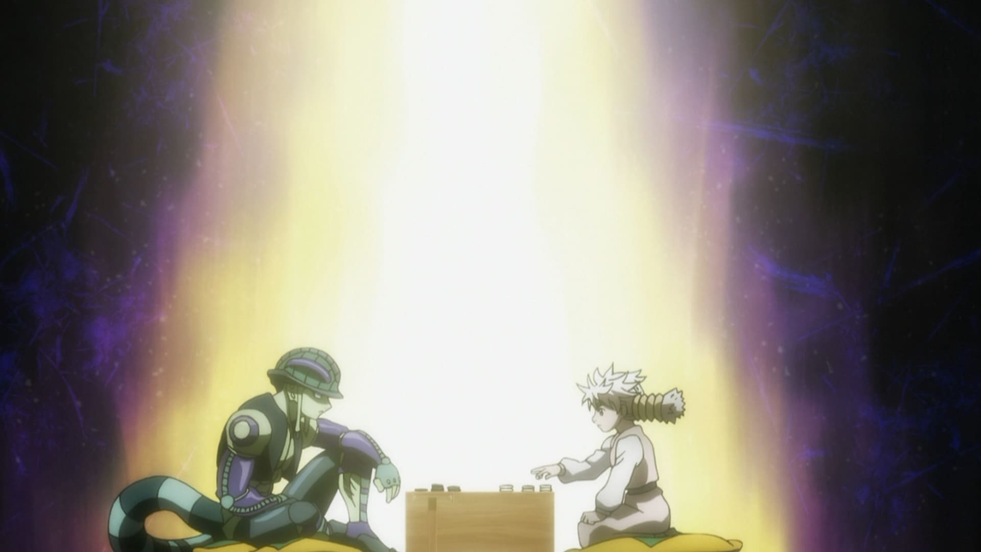 Hunter x Hunter Season 2 :Episode 41  Check x And x Mate
