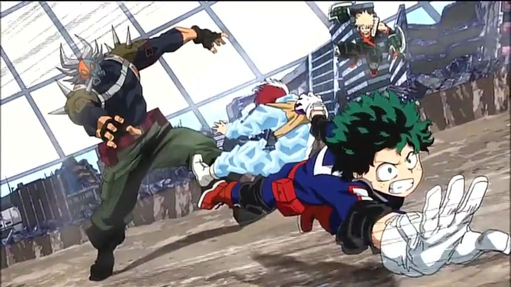 My Hero Academia Season 0 :Episode 1  Save! Rescue Training