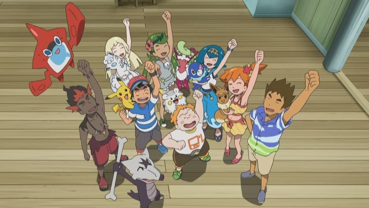 Pokémon Season 22 :Episode 10  Alola, Alola!