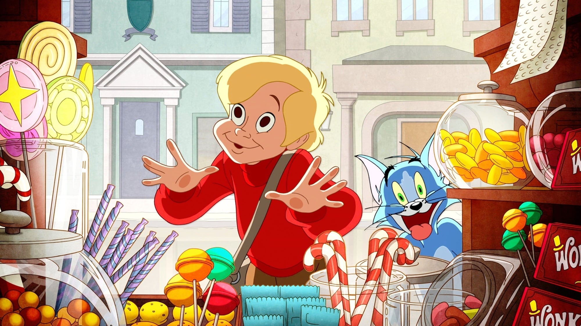 Tom y Jerry: Willy Wonka y la fábrica de chocolates
