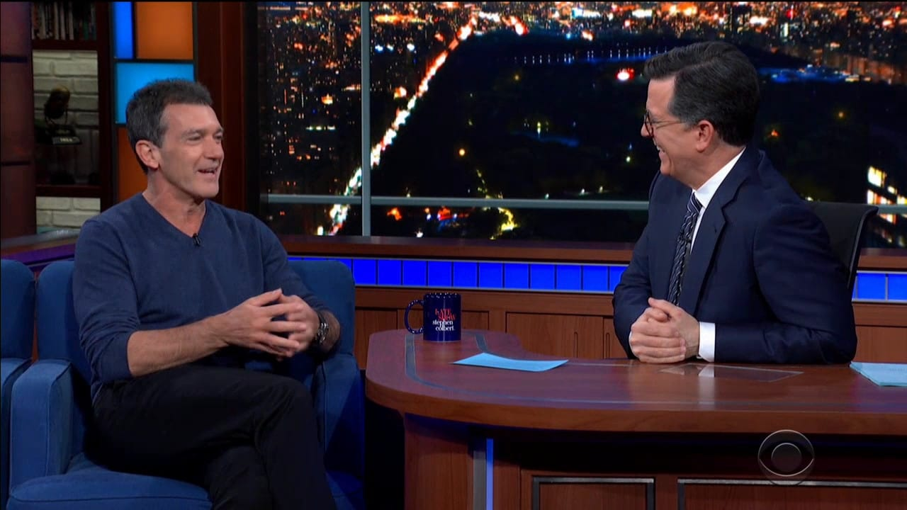 The Late Show with Stephen Colbert Season 5 :Episode 78  Antonio Banderas / Jay Hernandez