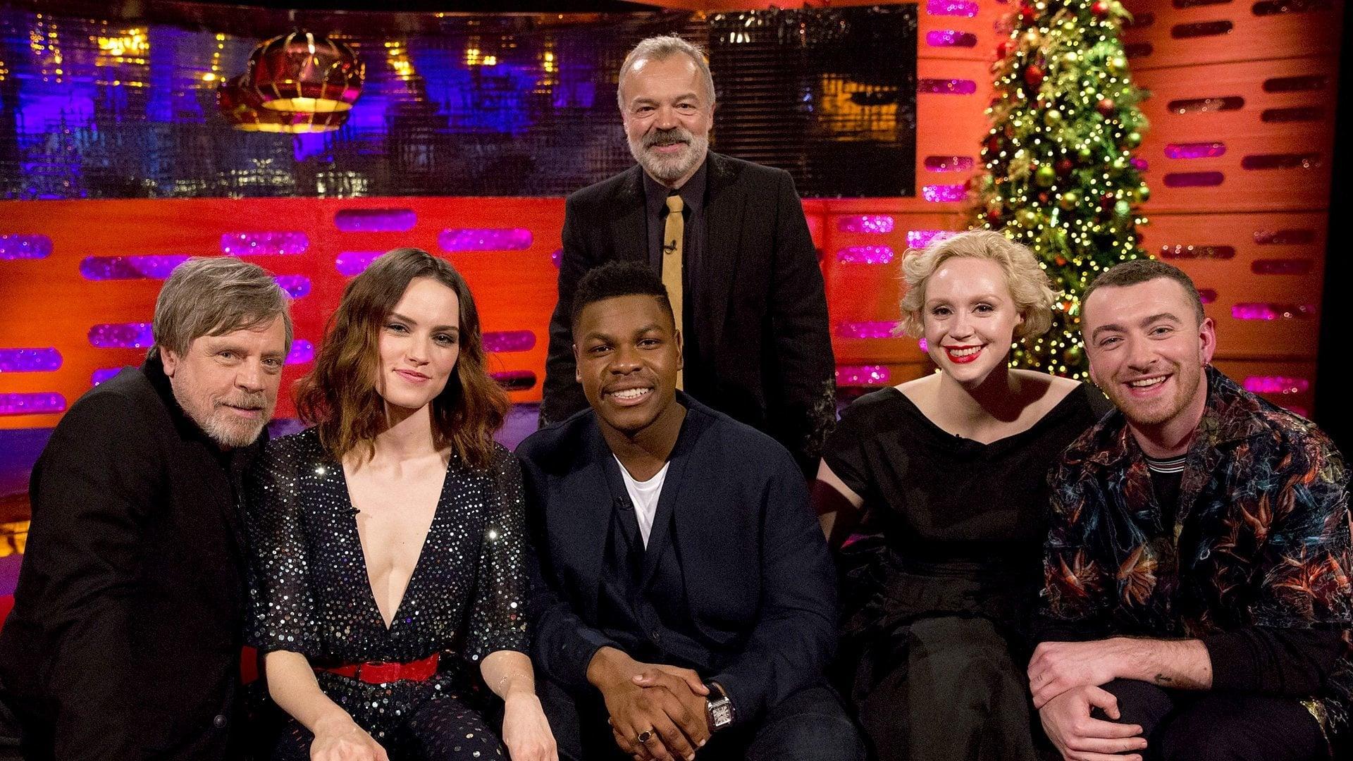 The Graham Norton Show Season 22 :Episode 11  Daisy Ridley, John Boyega, Gwendoline Christie, Mark Hamill, Sam Smith