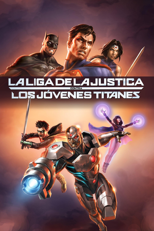 Imagem Liga da Justiça vs. Jovens Titãs