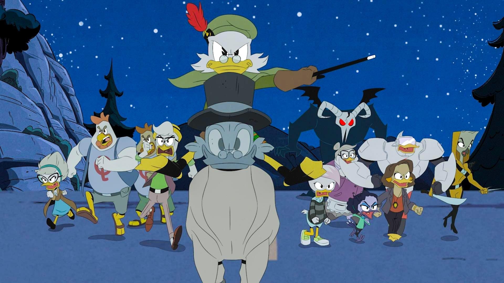 DuckTales Season 2 :Episode 24  Moonvasion!: Part 1