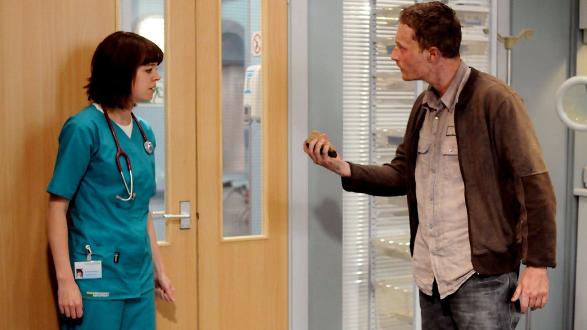 Casualty Season 24 :Episode 14  As Others See Us