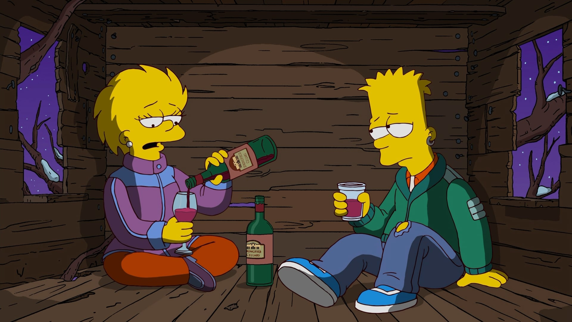The Simpsons Season 23 :Episode 9  Holidays of Future Passed