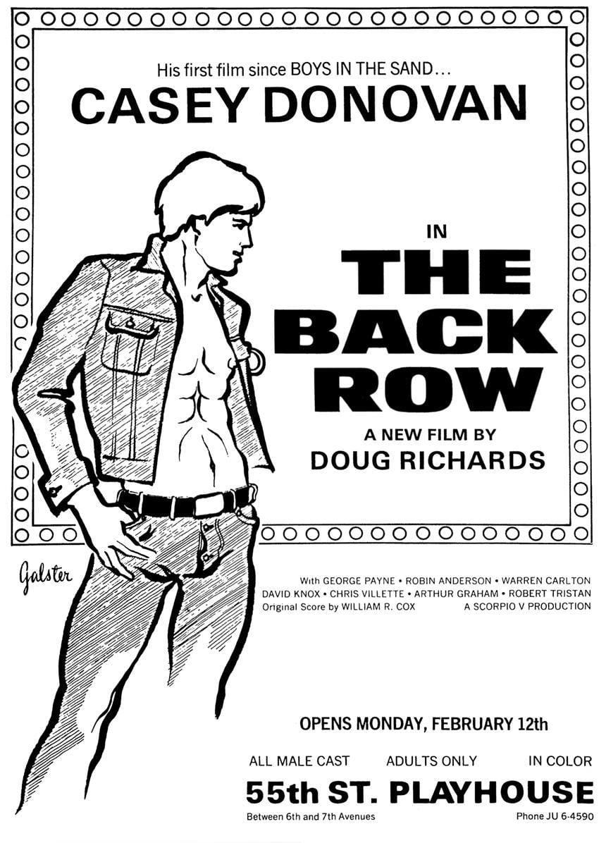 Ver The Back Row Online HD Español (1973)