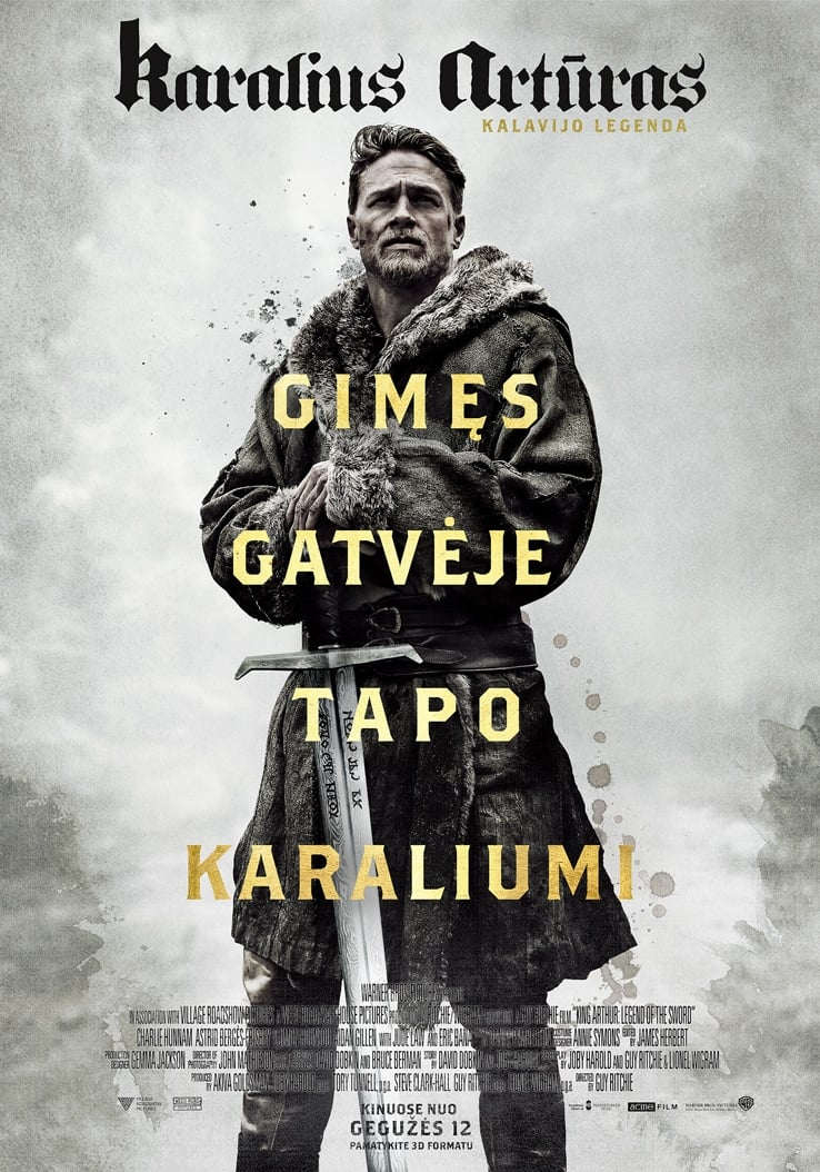 Karalius Artūras: Kalavijo legenda (2017) / King Arthur: Legend of the Sword (2017)