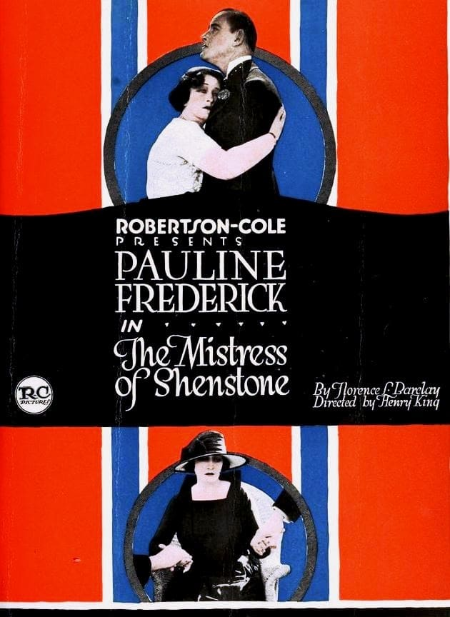 The Mistress of Shenstone (1921)