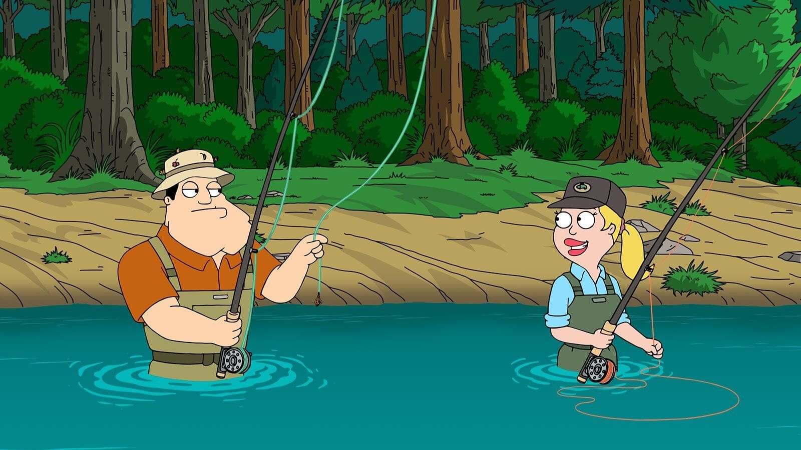 American Dad! Season 17 :Episode 21  Dammmm, Stan!