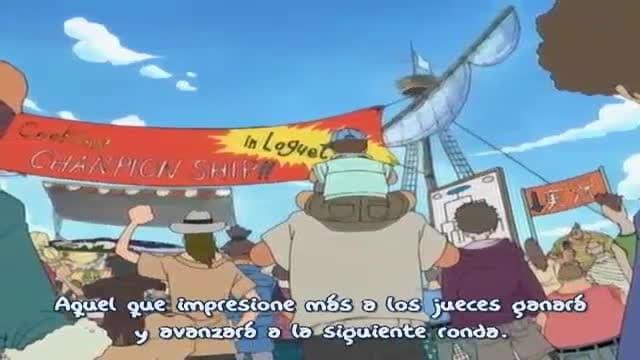 One Piece Season 1 :Episode 51  Fiery Cooking Battle? Sanji vs. The Beautiful Chef!