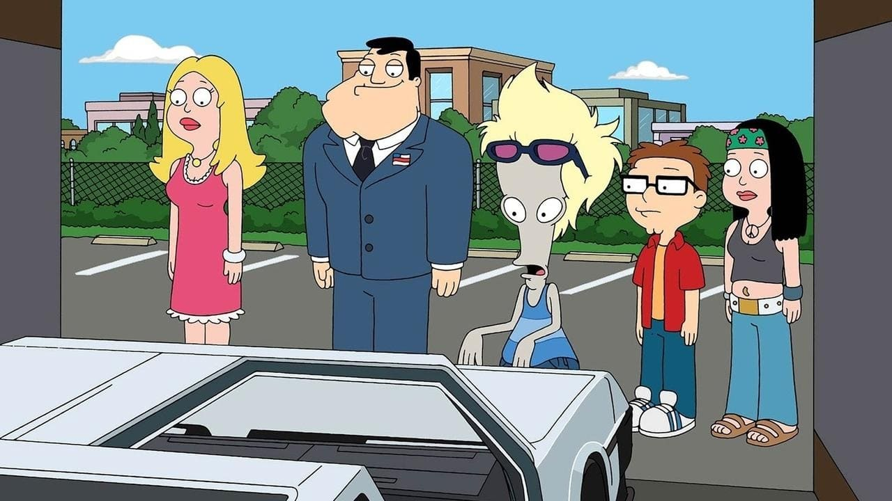 American Dad! Season 5 :Episode 16  Delorean Story-An