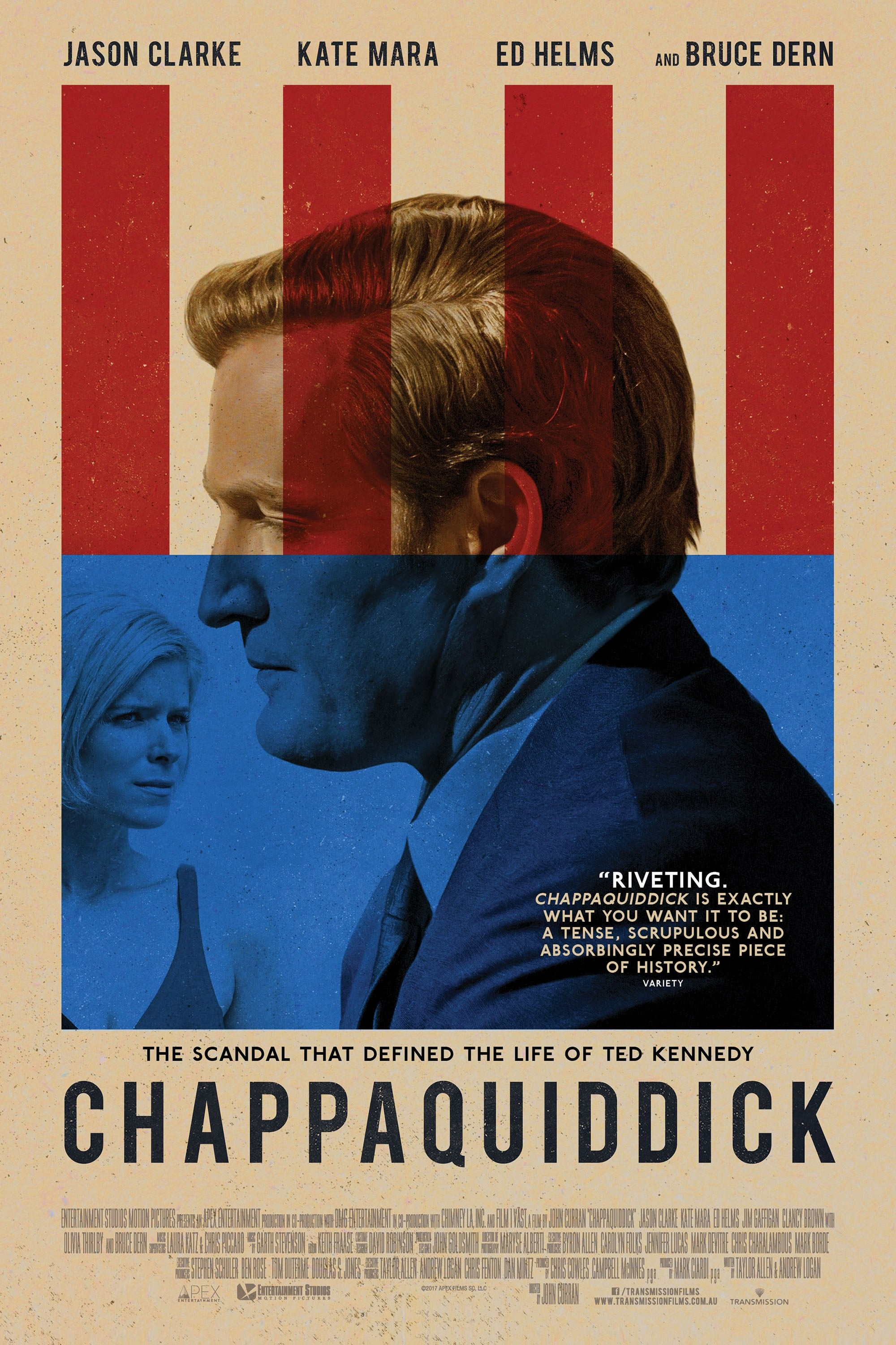 Poster and image movie Film Chappaquiddick - Chappaquiddick 2018