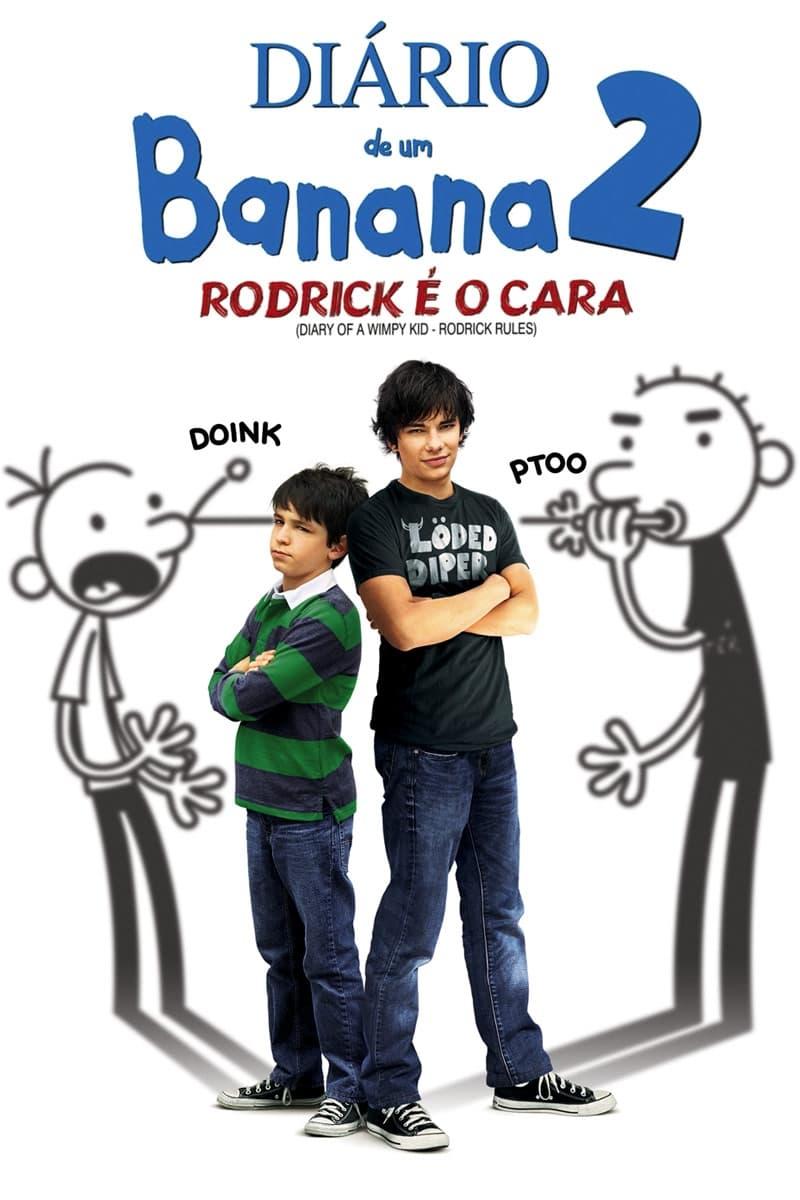capa Diário de um Banana 2: Rodrick é o Cara