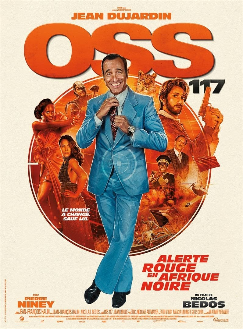 Oss 117 Alerte Rouge En Afrique Noire 2021 Posters The Movie Database Tmdb