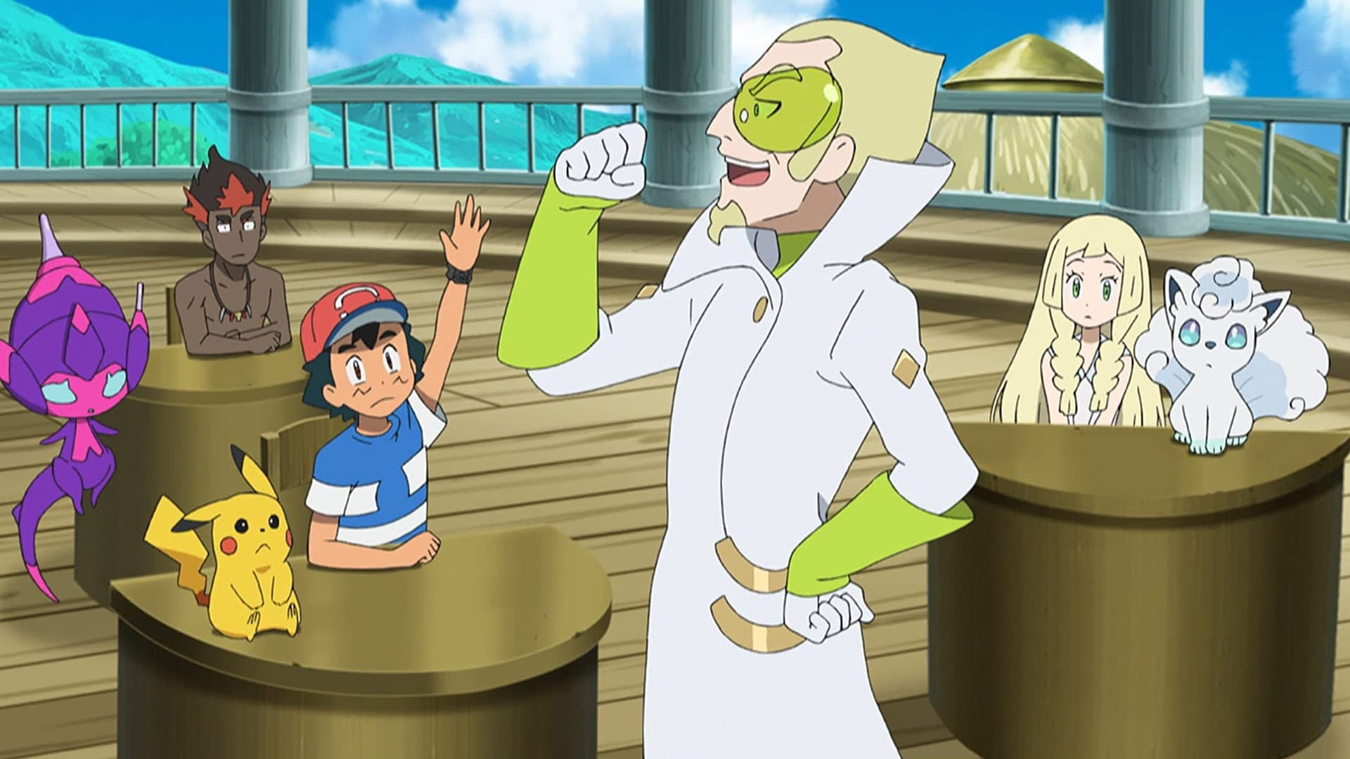 Pokémon Season 21 :Episode 40  Dummy, You Shrunk the Kids!