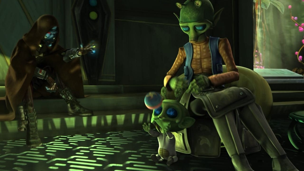 Star Wars: The Clone Wars - Season 2 Episode 3 : Children of the Force