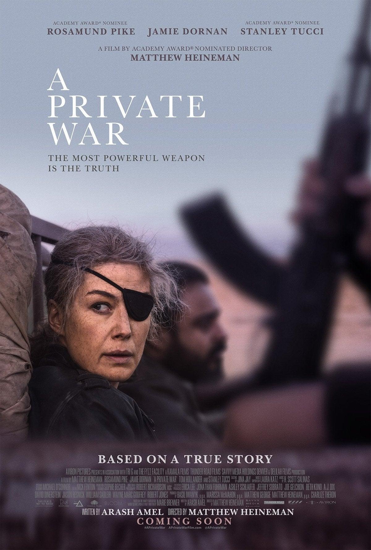 watch A Private War 2018 online free