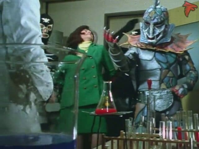 Kamen Rider Season 1 :Episode 58  Monster Poison Lizard, Duel in Fear Valley!!