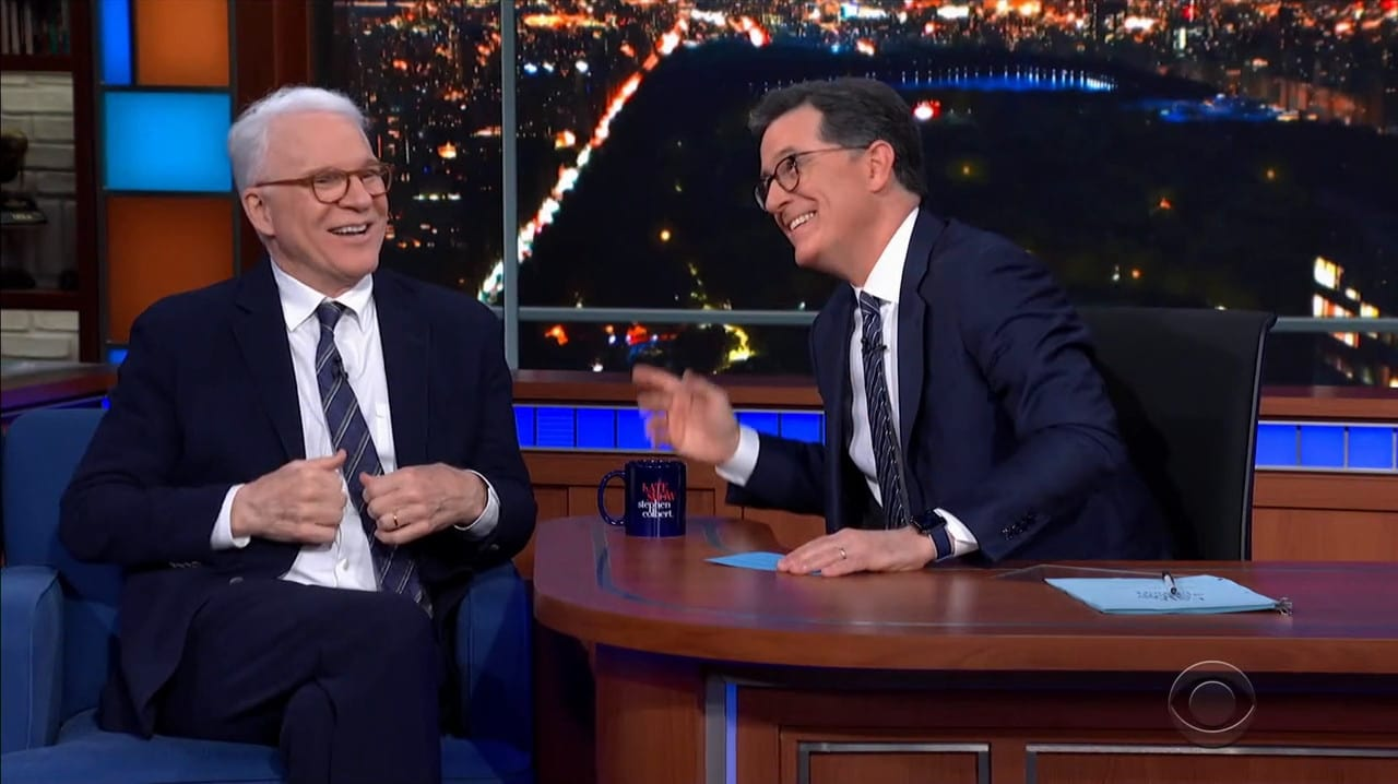 The Late Show with Stephen Colbert Season 5 :Episode 79  Steve Martin